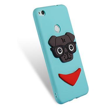 voordelige Huawei Y-serie hoesjes / covers-hoesje Voor Huawei P10 Lite / P8 Lite (2017) / Honor 7X Patroon / DHZ Achterkant Hond Zacht TPU