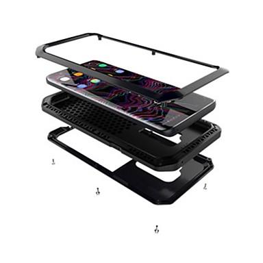 Недорогие Чехлы и кейсы для Galaxy S6 Edge-Кейс для Назначение SSamsung Galaxy S9 / S9 Plus / S8 Plus Защита от удара / броня Чехол броня Твердый Металл