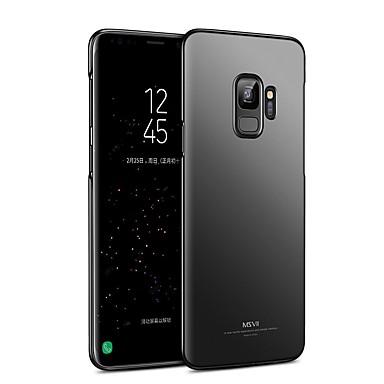 levne Galaxy S6 Pouzdra a obaly-Carcasă Pro Samsung Galaxy S9 / S9 Plus / S8 Plus Ultra tenké Zadní kryt Pevná barva Pevné PC