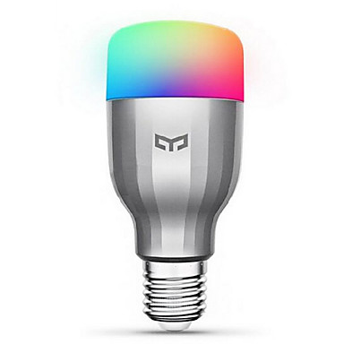 cheap Smart Lights-Xiaomi Yeelight 220V E27 Smart LED Bulb16 Million Colors WiFi Enabled Work with Amazon Alexa/Google Home