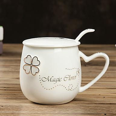 Γυαλί Κούπες Τσαγιού Μπουκάλια Νερού Κούπες Καφέ Τσάι & Ροφήματα Διακοσμητικό φίλη δώρο 1 Καφέ Τσάι Νερό Χυμός drinkware