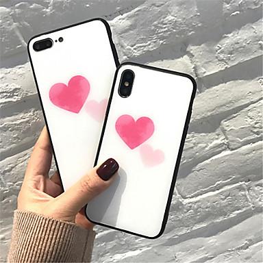 Apple 8 7 Fantasia iPhone Per iPhone cuori iPhone 8 iPhone Vetro Con Plus disegno per X Resistente 06576967 temperato retro X Per Custodia iPhone Plus g0q5gX