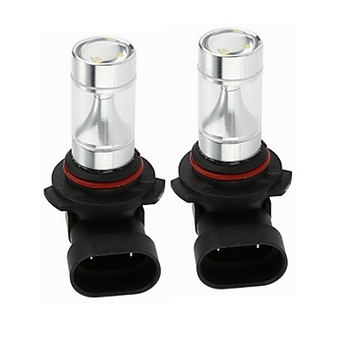 Недорогие Фары для мотоциклов-SENCART 2pcs 9006 Мотоцикл / Автомобиль Лампы 30W Интегрированный LED 1200lm 6 Светодиодные лампы Внешние осветительные приборы For