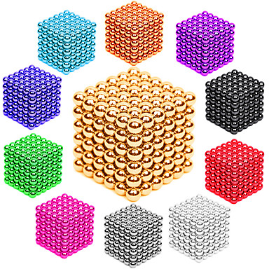 216 pcs 3mm Magnet Toy Magnetic Balls Building Blocks Super Strong Rare-Earth Magnets Neodymium Magnet Stress and Anxiety Relief Office Desk Toys DIY Kid's / Adults' / Children's Unisex Boys' Girls'