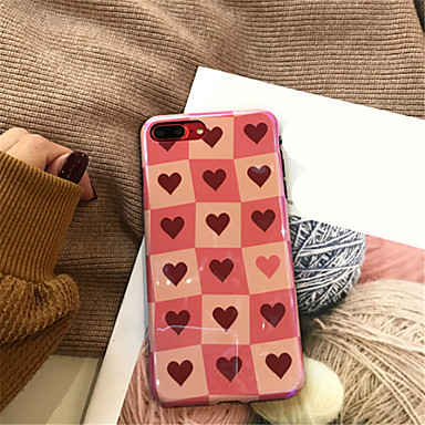 Custodia Morbido Plus iPhone Con Per cuori Fantasia X per iPhone iPhone Plus 06576977 8 disegno iPhone Apple Per 7 X retro iPhone 8 TPU rSrdYFOPq
