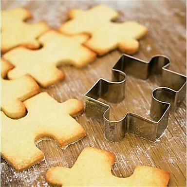 1 buc Teak Bucătărie Gadget creativ Biscuiți Pentru ustensile de gătit Pătrat Tăietoare De Biscuiți Unelte pentru paste Instrumente de coacere