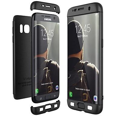 Недорогие Чехлы и кейсы для Galaxy S6-Кейс для Назначение SSamsung Galaxy S9 / S9 Plus / S8 Plus Защита от удара / Ультратонкий Чехол Сплошной цвет Твердый ПК
