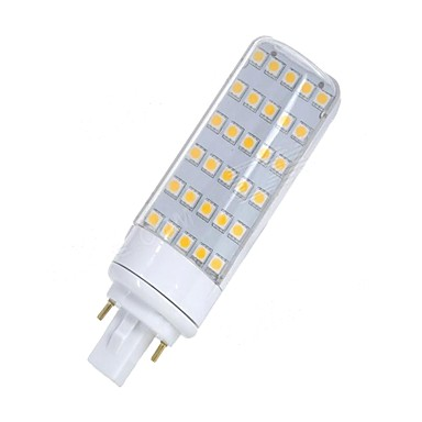 SENCART 1st 5.5 W LED-lampor med G-sockel 580-650 lm G24 T 30 LED-pärlor SMD 5050 Dekorativ Varmvit Vit 85-265 V 12 V