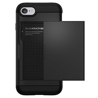 X Custodia iPhone 06637474 per Porta iPhone Per 6 Tinta iPhone Plus retro Apple Resistente credito PC unita iPhone iPhone Per 7 8 8 carte di UqSaUrEwx