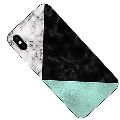 Per retro Per Fantasia 06611431 Transparente X iPhone 8 iPhone 8 disegno Plus per iPhone Apple X Effetto marmo iPhone Morbido Custodia TPU iPhone zw0qdvvp