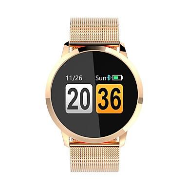 זול שעונים חכמים-Q8 נשים חכמים שעונים Android iOS Blootooth מוניטור קצב לב בקרת APP כלוריות שנשרפו מעקב אימון מזכיר שיחות מד צעדים מזכיר שיחות מעקב שינה תזכורת בישיבה מצאו את המכשירשלי / Alarm Clock / NRF51822