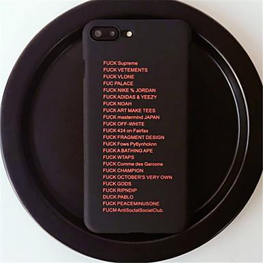Carcasă Pro Apple iPhone 7 Plus   iPhone 6 Plus Vzor Zadní kryt Slovo    citát 2cc39d866b3