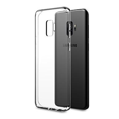 Etui Til Samsung Galaxy S9 Plus / S9 Ultratyndt / gennemsigtige legeme Bagcover Ensfarvet Blødt TPU for S9 / S9 Plus / S8 Plus