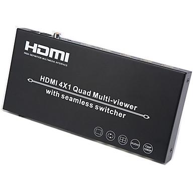 ieftine Audio & Video-Factory OEM SNSW0401QM 8 HDMI 1.3 HDMI 1.4 3.5mm audio Jack RCA COAX HDMI 1.3 HDMI 1.4 3.5mm audio Jack RCA Damă-Damă 1080P 5.0 Gbps