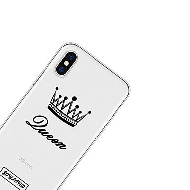 TPU Cartoni 8 Per animati Apple 06639520 per iPhone 8 Frasi Per iPhone Morbido retro Fantasia iPhone disegno famose X Plus iPhone Custodia X xOa6qwXX