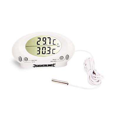Недорогие Медобеспечение-калибр it-201a внутренний / наружный цифровой жк-дисплей с термометром