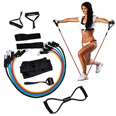KYLINSPORT Set Benzi de Rezistență 12 pcs Yoga / Pilates / Fitness Forța de Formare Cauciuc Fizioterapie