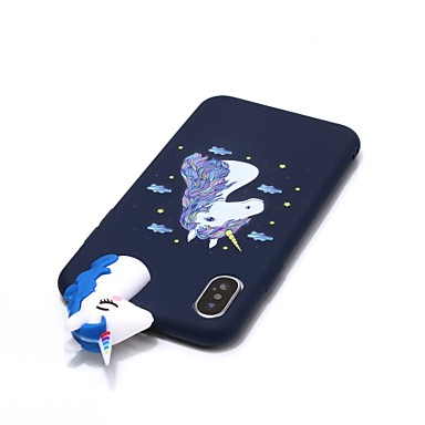 iPhone 8 Morbido 06639669 iPhone 8 Plus Fantasia iPhone te Per Unicorno X Fai per TPU disegno iPhone da Apple iPhone retro 8 Per Custodia X 6TxESgxF