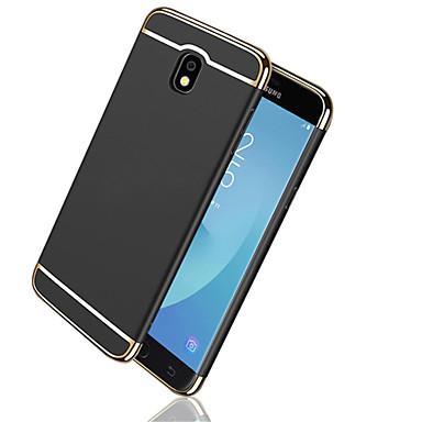 voordelige Galaxy J-serie hoesjes / covers-hoesje Voor Samsung Galaxy J7 Prime / J7 (2017) / J7 (2016) Beplating / Mat Achterkant Effen Hard PC