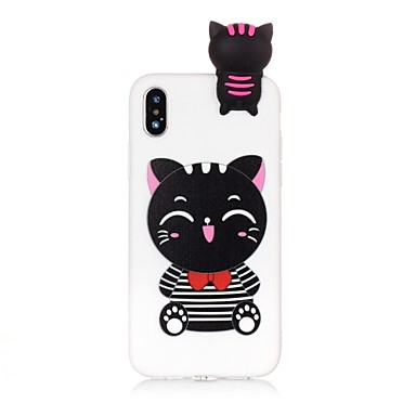 X 8 8 06637291 retro Apple iPhone Plus iPhone Gatto Fantasia disegno X TPU iPhone iPhone Per 8 Morbido Custodia Per iPhone per TxtqXFq