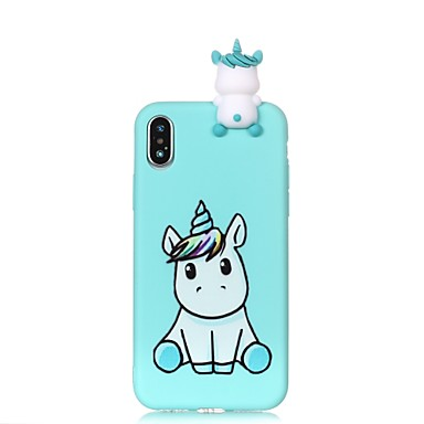 Per X Morbido TPU Apple 06639667 iPhone da te Plus per disegno Custodia iPhone 8 Per Unicorno X iPhone Fantasia Fai iPhone 8 iPhone retro 8 U6dxqA