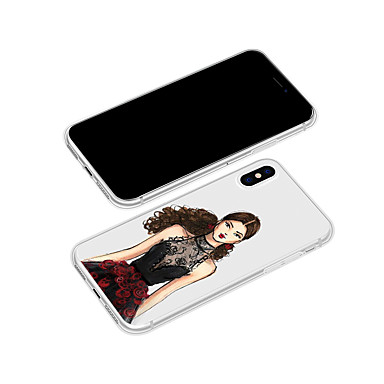 Sexy Apple Morbido animati X Plus Per 8 Per Plus Custodia 8 retro TPU iPhone disegno 06639413 Cartoni iPhone iPhone Fantasia iPhone per X iPhone 6qPtSw