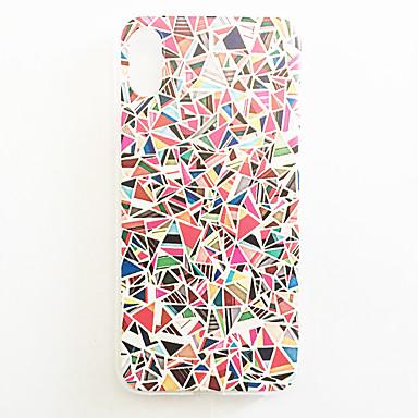Pouzdro Uyumluluk Apple iPhone X / iPhone 8 / iPhone 8 Plus Temalı Arka Kapak Çiçek Sert PC için iPhone X / iPhone 8 Plus / iPhone 8