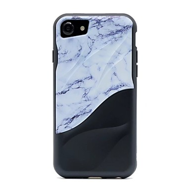 iPhone iPhone Per Fantasia Plus X iPhone disegno iPhone Apple Resistente 8 Per 8 Effetto retro X 06707795 marmo 8 TPU iPhone Custodia per qIpwSE