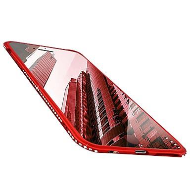 8 per X Ultra retro TPU 06698823 Glitterato Morbido Per iPhone sottile Tinta X iPhone Per unita diamantini Apple Custodia Con iPhone wAqBqgHX