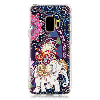 voordelige Galaxy S-serie hoesjes / covers-hoesje Voor Samsung Galaxy S9 / S9 Plus / S8 Plus Patroon Achterkant Olifant Zacht TPU