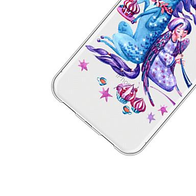 disegno Unicorno 06715513 Per iPhone iPhone Morbido X 8 per retro Plus Custodia Apple iPhone iPhone TPU 8 animati Fantasia Per X Cartoni q8x4zg