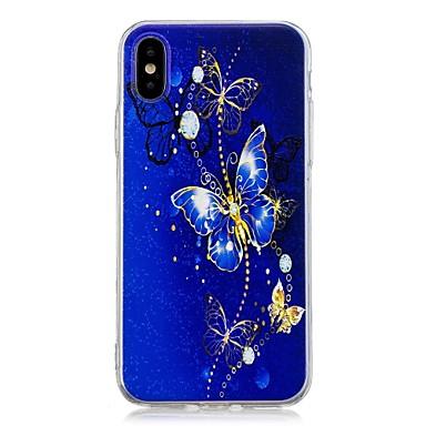 Farfalla Fantasia iPhone X disegno 8 iPhone Morbido retro Plus iPhone 8 Apple iPhone 06715434 Plus per 8 TPU X iPhone Per Custodia Per EaxqPw00