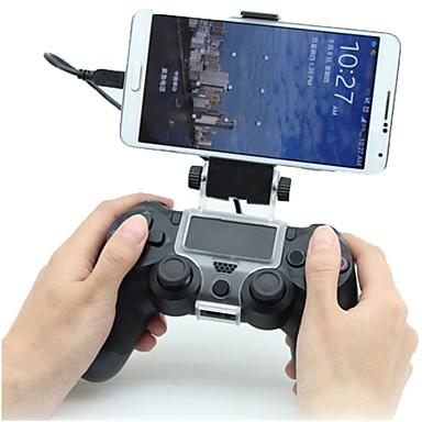 olcso Videojáték tartozékok-Vezeték nélküli Fogantyú / játékvezérlő Kompatibilitás PS4 ,  Bluetooth Rezgés / Touchpad / Alacsony rezgés Fogantyú / játékvezérlő ABS 1 pcs egység