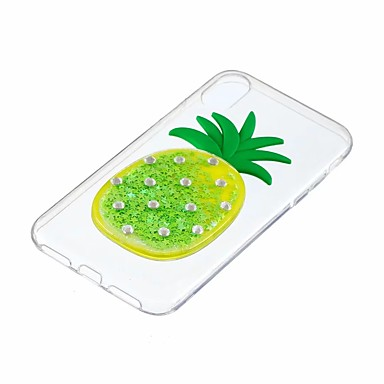Fantasia Apple Morbido X Liquido Per retro TPU a Glitterato 7 iPhone iPhone
