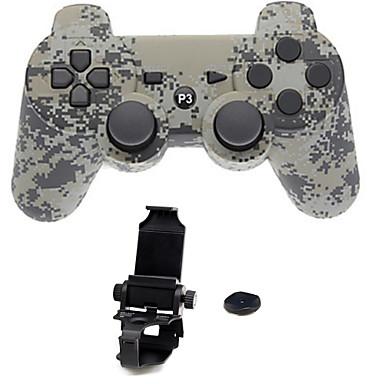olcso PS3 tartozékok-Vezeték nélküli Állvány készletek Kompatibilitás Sony PS3 ,  Bluetooth Hordozható Állvány készletek ABS 1 pcs egység