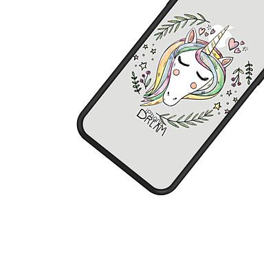 animati X Unicorno Resistente iPhone Acrilico Cartoni Apple Custodia iPhone iPhone 8 Per Fantasia Plus 8 X iPhone retro 06749883 Plus iPhone disegno Per 8 per wOqAZPUq