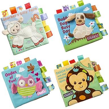 لعبة القراءة الحيوانات 3D قراءة كتاب مرحلة ما قبل المدرسة صبيان فتيات ألعاب هدية 1 pcs