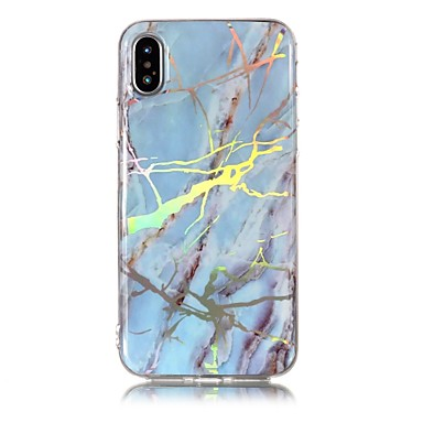 IMD X Per iPhone Morbido Effetto iPhone per iPhone Per 06739991 X 8 Fantasia iPhone retro Placcato Apple 8 Custodia marmo TPU disegno ctwvgp0qt