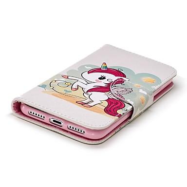 credito di portafoglio X Unicorno pelle iPhone Integrale Porta 06721461 Apple Custodia Resistente 8 iPhone carte Per Plus Con supporto A nq7PxwBp4g