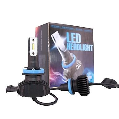 voordelige Autokoplampen-1 set h8 h9 h11 dimlicht led-koplampen kit pgj19 fit voor mazda3 sylphy accord odyssey