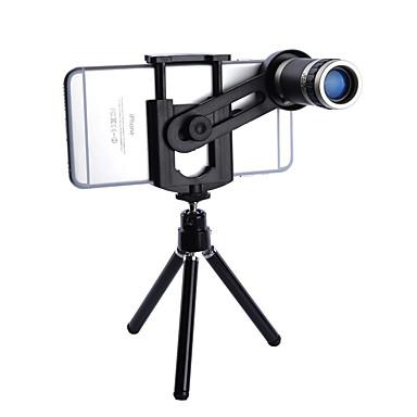 Lente do telefone móvel Lente de Foco de Longa Distância Macro 8X 0.01 m 70 °