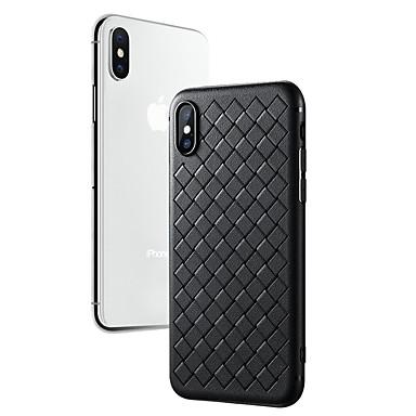voordelige iPhone 6 Plus hoesjes-hoesje Voor Apple iPhone X / iPhone 8 Plus / iPhone 8 Ultradun Achterkant Effen Zacht TPU