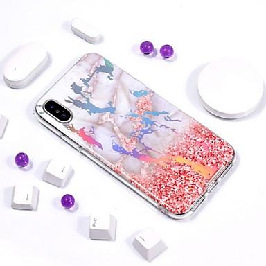 per Morbido TPU iPhone 8 iPhone X Fantasia retro marmo Custodia Per Per Placcato IMD iPhone Apple Effetto disegno 8 iPhone 06739987 X ZSwnq6a