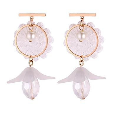 Χαμηλού Κόστους Σκουλαρίκια-Γυναικεία Μακρύ Κρεμαστά Σκουλαρίκια Σκουλαρίκια  κυρίες Γλυκός Μοντέρνα Κοσμήματα Λευκό   Γκρίζο c8daf922db4
