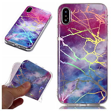 iPhone disegno Per Plus IMD Custodia X iPhone Apple X TPU iPhone retro iPhone 8 Effetto Plus Placcato 8 iPhone per Morbido 06749174 marmo Per Fantasia 8 BqBPvnI