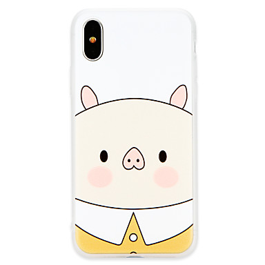 sottile iPhone 8 Morbido Plus iPhone iPhone 8 per Animali iPhone Apple TPU 8 06754063 retro Per Per X Custodia Ultra X iPhone n6R0q0