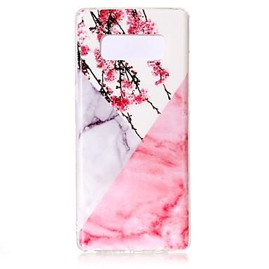 voordelige Galaxy Note-serie hoesjes / covers-hoesje Voor Samsung Galaxy Note 8 Patroon Achterkant Marmer Zacht TPU