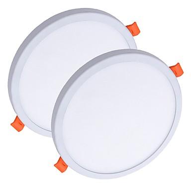 ZDM® 2pcs 8 W 40 الخرز LED سهولة التثبيت في فجوة تصميم جديد أضواء اللوحات أضواء LED أبيض دافئ أبيض كول 85-265 V سقف تجاري المنزل / مكتب / بنفايات / CE / 90