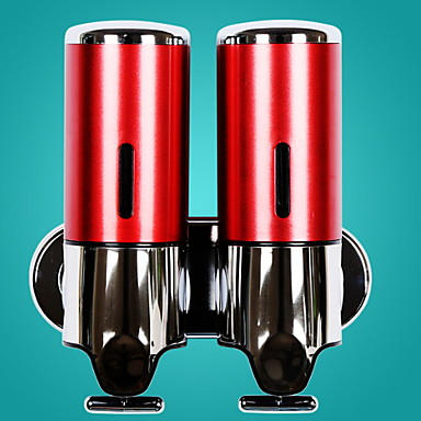 Soap Dispenser Smart / New Design / Creative Contemporary Stainless steel 1pc - Bathroom Wall Mounted