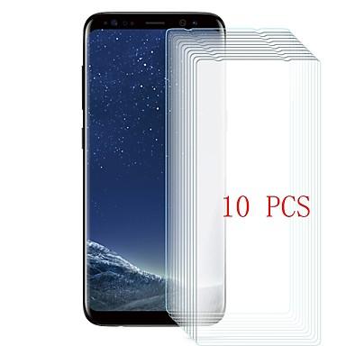 Samsung GalaxyScreen ProtectorS8 Plus 9Hقسوة حامي شاشة أمامي 10قطع زجاج مقسي